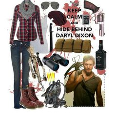 Daryl Dixon styled outfit