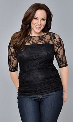 how larger size women should wear leggings | Finding the Best Deals on Plus Size Dressy Tops