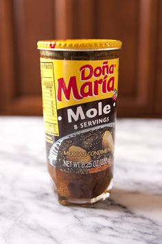 dona maria mole: recipes are available on the internet.