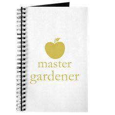 Cute Yellow Apple Master Gardener Journal