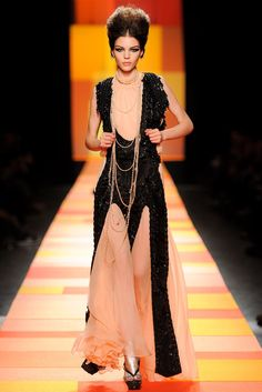 Jean Paul Gaultier Spring 2013 Couture Fashion Show - Kate Bogucharskaia
