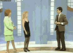 """Share this """"No Touchy Mr. Bean"""" animated gif image with everyone. Gif4Share is best source of Funny GIFs, Cats GIFs, Dog GIFs to Share on social networks and chat."""