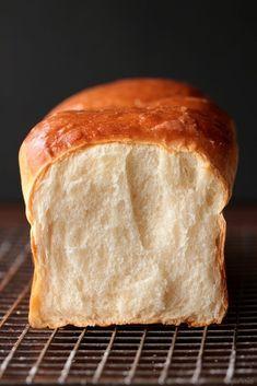 The English version of the Hokkaido bread is beneath the Hungarian post. Két napja volt 1 éves a KonyhaParádé! Tart Recipes, Sweet Recipes, Baking Recipes, Cooking Bread, Bread Baking, Healthy Homemade Bread, Hungarian Recipes, Baking And Pastry, Food Photography