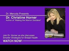 Dr. Christine Horner, a former board certified general and plastic surgeon, who was a spokesperson for the American Cancer Society on breast cancer issues. She quite her practice, after studying simple strategies that can drastically reduce chances of developing cancer, to write a book. Discusses Smarter Strategies for Breast Health