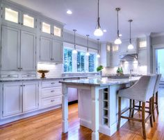 Beautifully Warm And Inviting #countrykitchen Built Using #CliqStudios  Inset Style Austin Cabinets.