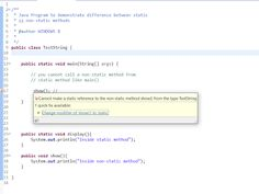 Can a non static method access static variable/method in java?