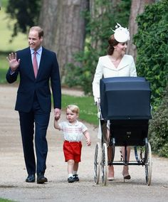 Pin for Later: The Real Reason Prince George Stole the Show at Charlotte's Christening