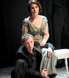 John Simm as Hamlet, Michelle Dockery as Ophelia at Sheffield Crucible. I always love when actors from my different fandoms interact. Lady Mary is in league with The Master?<<< pinning for that comment Shakespeare Characters, Shakespeare Plays, Bbc One Live, Hamlet And Ophelia, John Simm, Theatre Reviews, Michelle Dockery, Lady Mary, Actor John