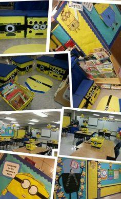 My Minion Themed 3rd grade Classroom :)