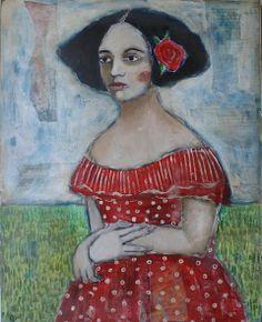 Red Dress | Jane DesRosier