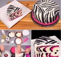 I will need to attempt to make this. Pink Zebra Cake Recipe