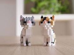 easy lego cats - Google Search
