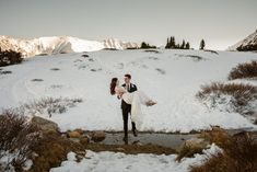Colorado winter elopement photographer, Loveland Pass mountain elopement, adventure elopement photographer, bride and groom portraits in snow Winter Mountain Wedding, Winter Wedding Colors, Mountain Elopement, Winter Wedding Inspiration, Snow Wedding, Elope Wedding, Elopement Wedding, Wedding Stuff, Wedding Ideas