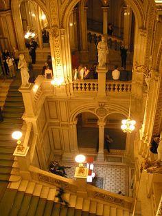 interior ópera estatal de Viena