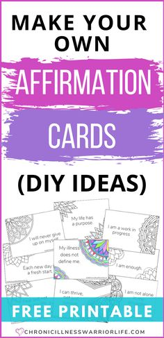 How to Make Affirmation Cards (DIY Ideas)