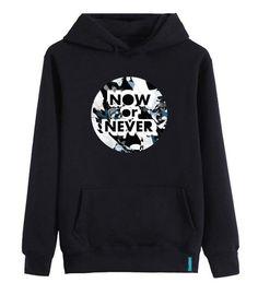 """Now or Never"" #hoodie #sweatshirt #streetstyle #bernaakkurt"