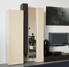 Salon on pinterest armoires white wardrobe and tv tables - Armoire en pin pas cher ...
