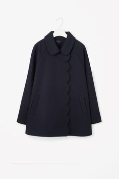 COS | A-line wool coat