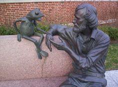 Kermit & Jim Henson.  He died far too soon.