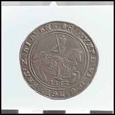 Half crown of Edward VI (r. 1547–53) Date:     1552 Culture:     British Medium:     Silver