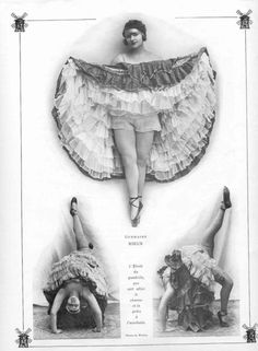 Ok so this is  interesting. Moulin Rouge 1920's. These were the show girls of the day...the sexy ones. By today's standard these girls are fat. Doesn't this prove that its all nonsense? Let everybody be, for God's sake. :)