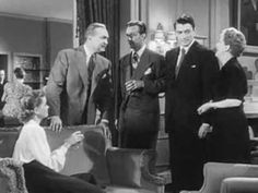 """""""Gentleman's Agreement"""", 1947--Gregory Peck, Dean Stockwell, Dorothy Maguire, John Garfield, Celeste Holm, and Anne Revere. A reporter pretends to be Jewish in order to cover a story on anti-Semitism, and personally discovers the true depths of bigotry and hatred."""