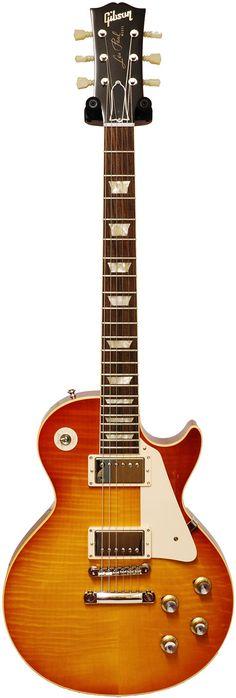 Gibson Les Paul Reissue 1960 Amber Orangeburst I own one. !   ------- #guitar #gibson
