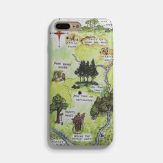 Winnie the Pooh Hundred Acre Woods Map iPhone 7 / 7 Plus Case
