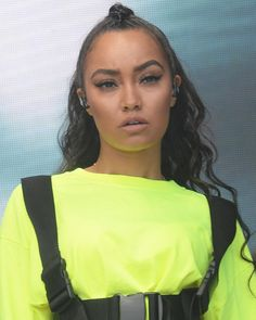 "558 Gostos, 2 Comentários - Little Mix Updates / News (@littlemixmuffinsxo) no Instagram: ""Leigh at BBC Radio 1's #BigWeekend today 💛"""