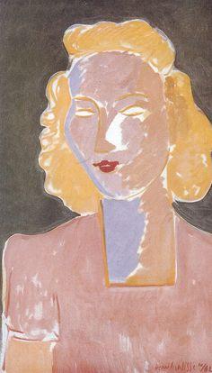 Henri Matisse ~ Young Girl in Rose, 1942 Henri Matisse, Matisse Kunst, Matisse Art, Matisse Paintings, Picasso Paintings, Matisse Pinturas, Illustration Art, Illustrations, Watercolor Artists