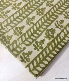 Dabu Print, Happy Emotions, Floral Prints, Floral Print Fabric, Indian Fabric, Fabric Strips, Printing On Fabric, Soft Fabrics