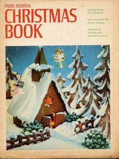 Vintage 1970  Christmas Book
