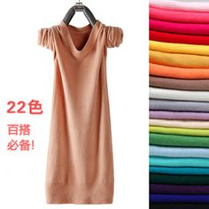 Aliexpress.com : Buy Promotion!!! 2013 Spring and autumn medium long o neck pullover sweater thin slim basic  Knitted sweater women's sweater  nz004 from Reliable peugeot jumper suppliers on YIWU  future beauty  store. $9.99