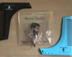 The Beard Bro Complete Beard Shaping Tool by Beardbrostore on Etsy