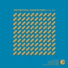 Orchestral Manoeuvres in the Dark DinDisc 1980, design by Ben Kelly and Peter Saville.
