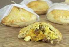 sausage, egg, and cheese hand pies - just what I was looking for