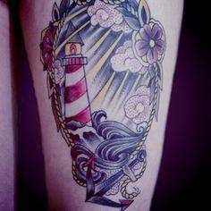 Thigh #tattoo sick nasty