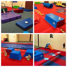 Frozen theme toddler gymnastics class