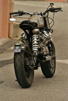 Honda café racer project # 2 by eyss-corp Cx500 Cafe Racer, Cafe Racer Build, Cafe Racers, Triumph Motorcycles, Cool Motorcycles, Vintage Motorcycles, Brat Bike, Cafe Racer Motorcycle, Moto Bike