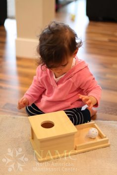 Developing Object Permanence Skills in the Montessori Infant/Toddler Environment from North American Montessori Center