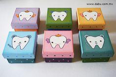 Para el ratón o hada de los dientes // tooth box www.kichink.com/stores/dabudecoracion