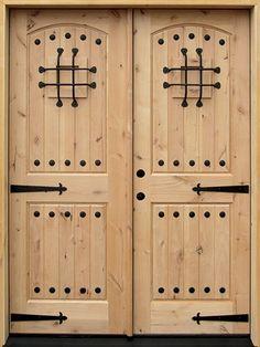double front entry doors Interior Wood Doors For Sale Double Front Entry Doors, Wood Entry Doors, Wood Exterior Door, Entrance Doors, Wooden Doors, Front Doors, Rustic Doors, Cheap Interior Doors, Solid Interior Doors