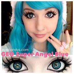 anime doll makeup look