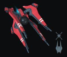Some homeworld inspired Star Wars concept fan art. I thought I'd give a next-gen EU ship a shot. S'jet class Medium Fighter Configuration D. Manufacturer: Unknown Class: &...