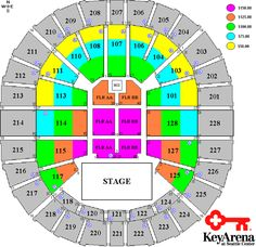 Key Arena Seattle Map.12 Best Performance Space Rentals Images Atelier Special Events