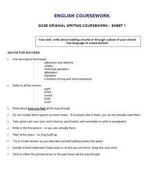 English language media text coursework