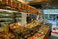 Replica Food Shop in Kappabashi, Tokyo