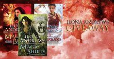 #UrbanFantasy #Giveaway – #Win 3 #IlonaAndrew Novels!