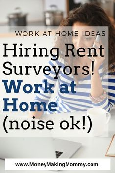 Work at Home! Background noise is OK! Get more details on this legitimate work at home job now! #workathome