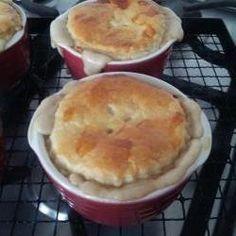 Easy chicken and mushroom pie @ allrecipes.co.uk